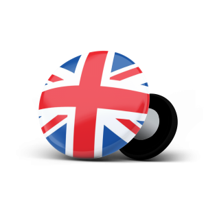racebibup sport magnets england flag