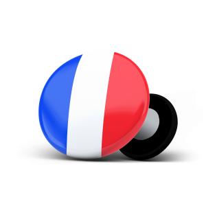 racebibup sport magnets france flag