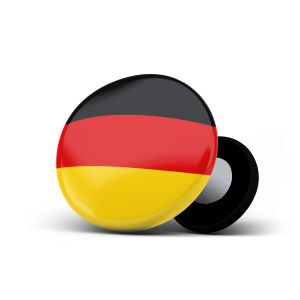 racebibup sport magnets german flag
