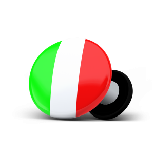 racebibup sport magnets italian flag