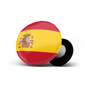 racebibup magnets pins sport magnets spain flag